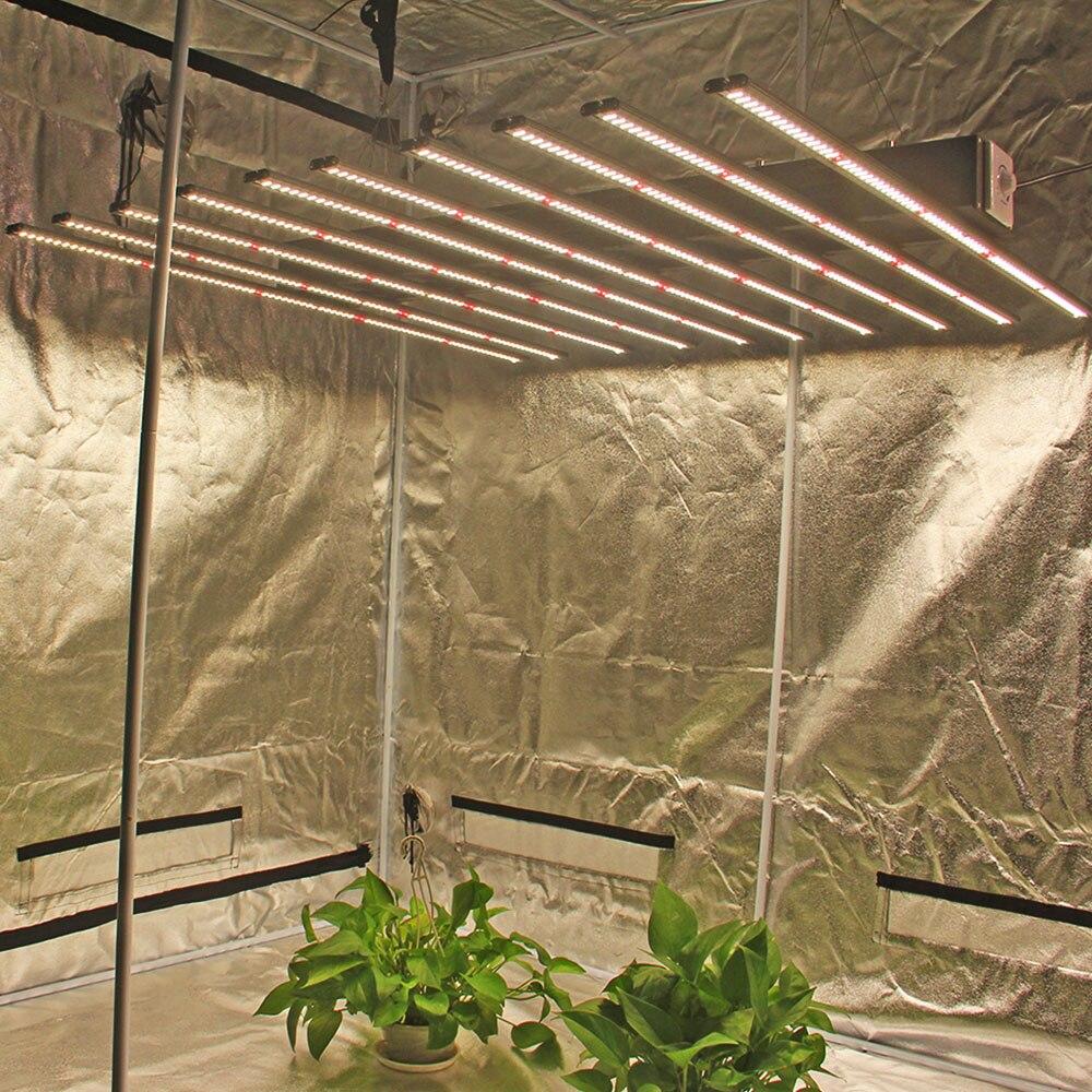 ETL CE ROHS spectre complet hydroponique minuterie réglable 1280W 480w led agricole pousser des lumières lampe de haute qualité