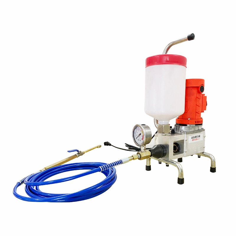 China concrete crack repair tool durable pistion pu foam polyurethane foam epoxy resin  injection pump grout injection machine