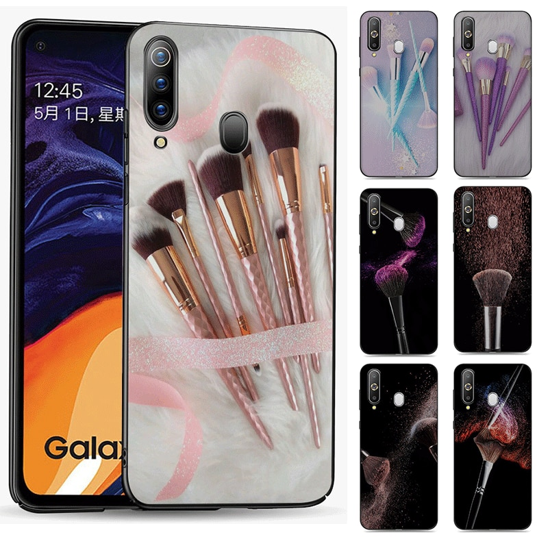 Разные фотографии DIY мобильный телефон чехол для Huawei P40 Pro Max P30 P20 Lite 2018 2019 Милая Красивая Кисть для макияжа для девочек