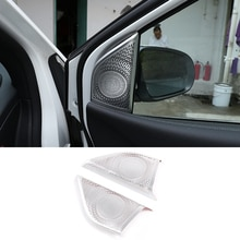 Car Aluminum Alloy Audio Speaker Tweeters Cover Trim Accessories For Mercedes Benz B GLB Class W247 X247 2019-2020