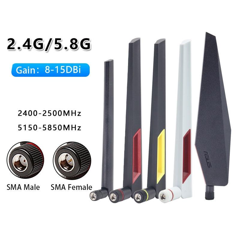 Antena ASUS Original para GT-AC5300, RT-AC88U, RT-AC68U, banda Dual, inalámbrica, enrutador, 2,4G,...
