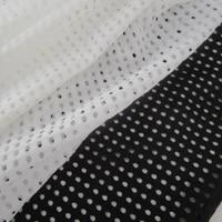 high stretch hollow mesh fabric outdoor sportswear cloth tight fabric for figure skating costume swinwear shirt dress material
