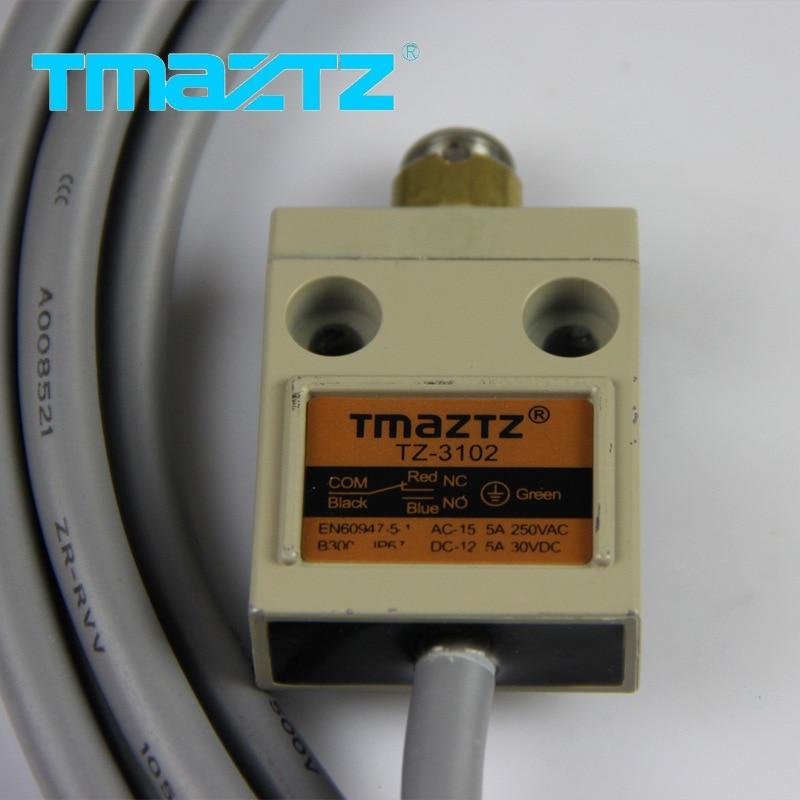 Interruptor de limite impermeável impermeável do interruptor de limite dos filhos genuínos micro-gap interruptor de limite pequeno de controle industrial TZ-3102