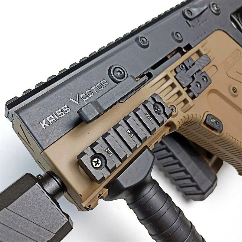 ZHENDUO LeHui Kriss de V2 de carril de guía al aire libre accesorios para pistola de juguete