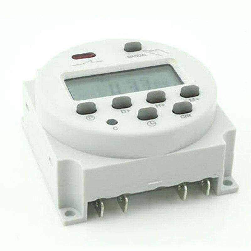 Temporizador programável de potência lcd digital, interruptor de tempo-yu home