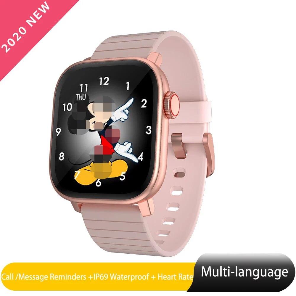 Reloj inteligente M1 ios para mujer, reloj múltiple con Monitor de frecuencia cardíaca, pulsera con pantalla táctil completa, reloj deportivo para Xiaomi Iphone PK P8