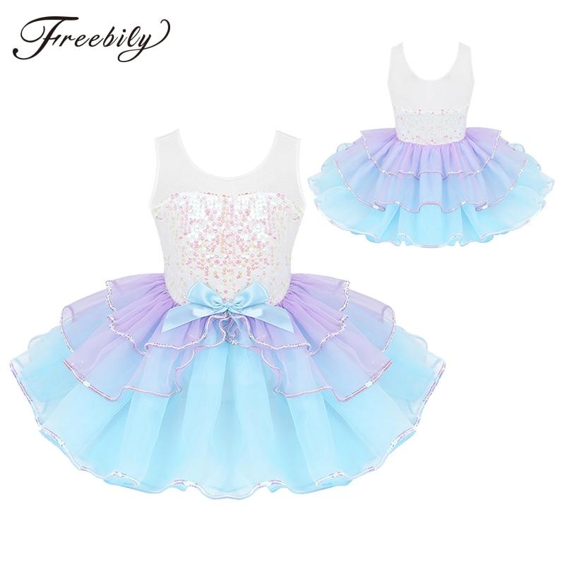 kids-girls-shiny-sequins-bowknot-mesh-splice-dancewear-gymnastics-leotard-tutu-ballet-dress-stage-performance-costume