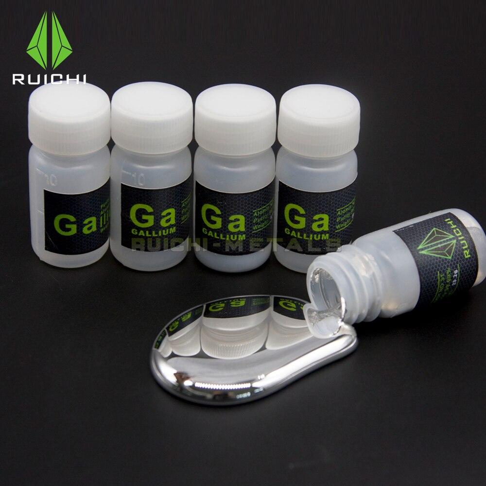 Free Shipping 99,99% Purity 10g 20g 40g 50g 100g Gallium Metal Element 31 10g 99 9% vanadium metal in glas ampoule under argon pure element 23 sample