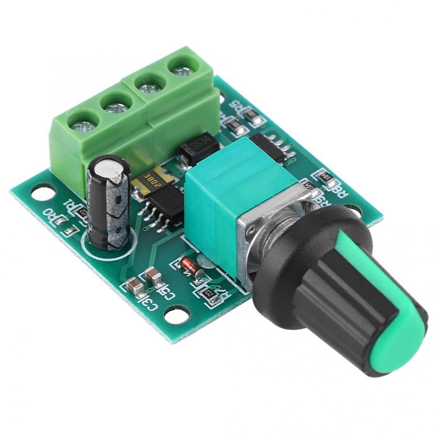 Контроллер низкого напряжения электродвигателя постоянного тока 1 8 12 В 2 А ШИМ