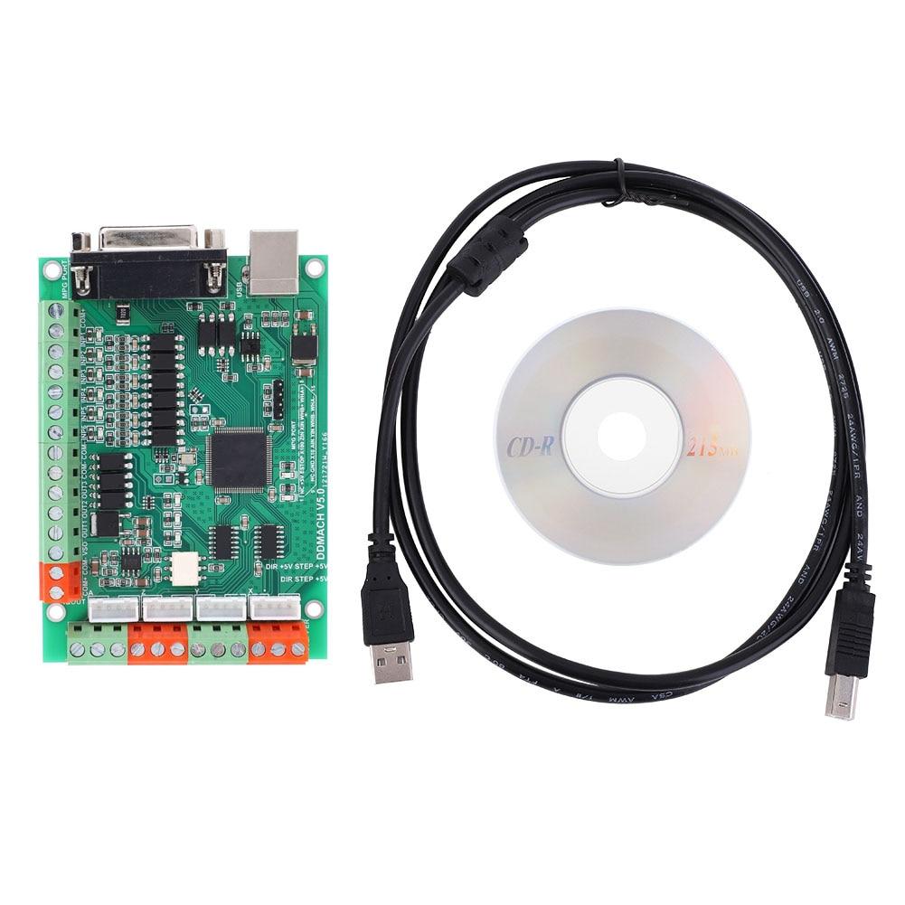 وحدة تحكم الحركة CNC USB MACH3 ، آلة النقش ، بطاقة التحكم في الحركة ذات 4 محاور