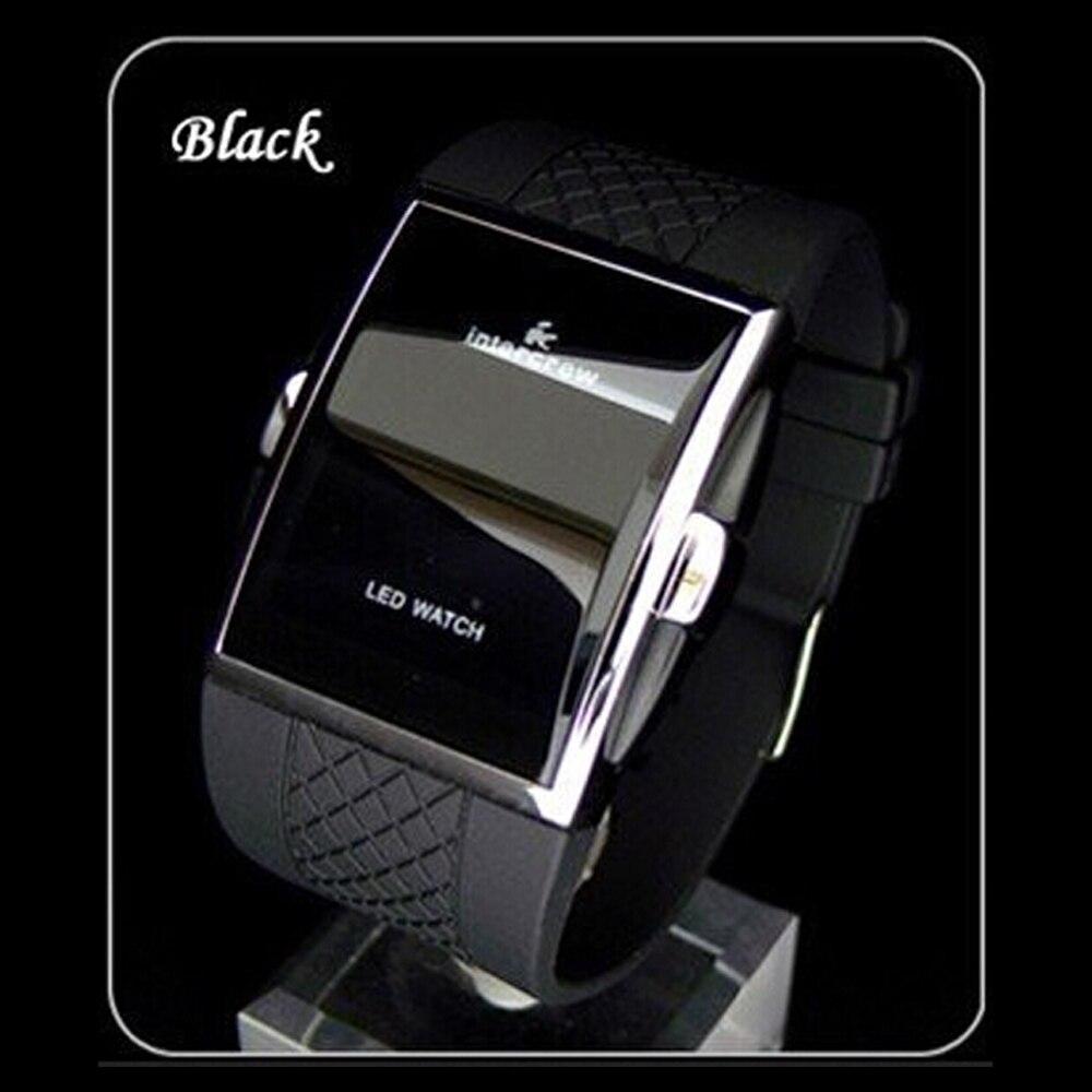 2019 Venda QUENTE Marca de Luxo Da Moda Digital LED Militar Relógios Homens Relógios Desportivos Relógio de Pulso Moda часы мужские