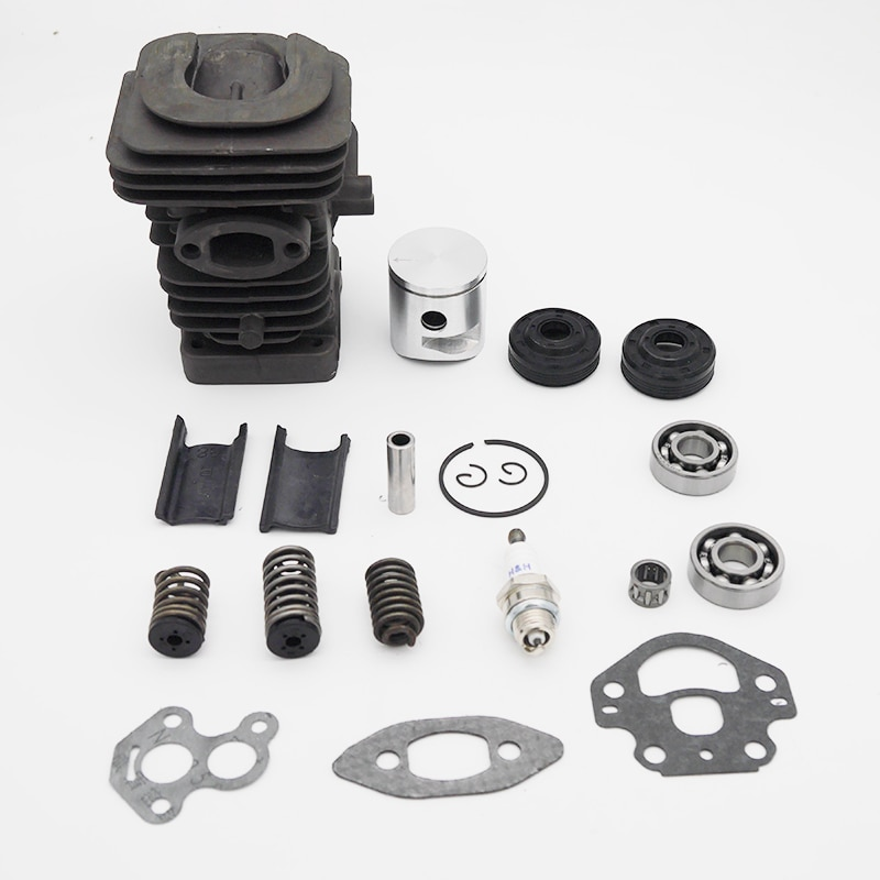 39MM Cylinder Piston Crank Bearing Seal Gasket Kit Fit For Husqvarna 235 236 236E 240 240E Garden Gas Chainsaw Engine Spare Part
