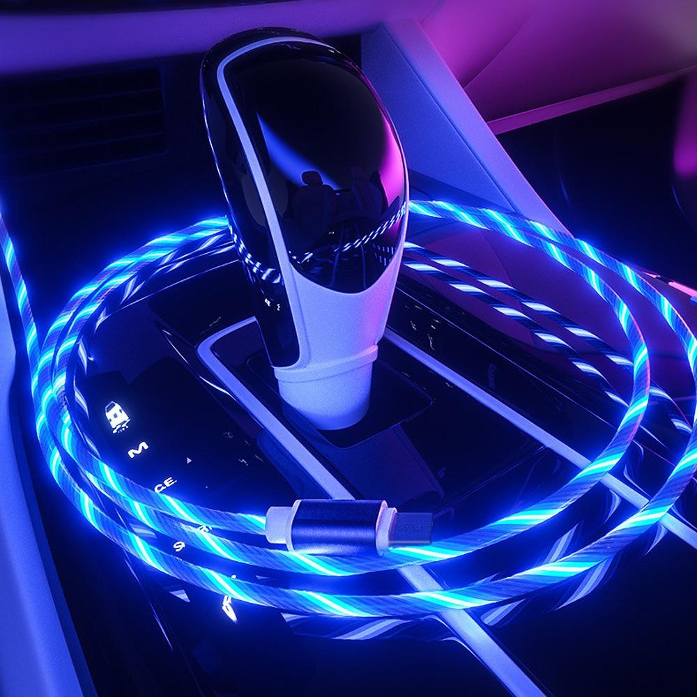 Flow Luminous Lighting Mobile Phone Data Wire For BMW 7 Series G11 G12 740li 750li Kia Sedona Grand Carnival