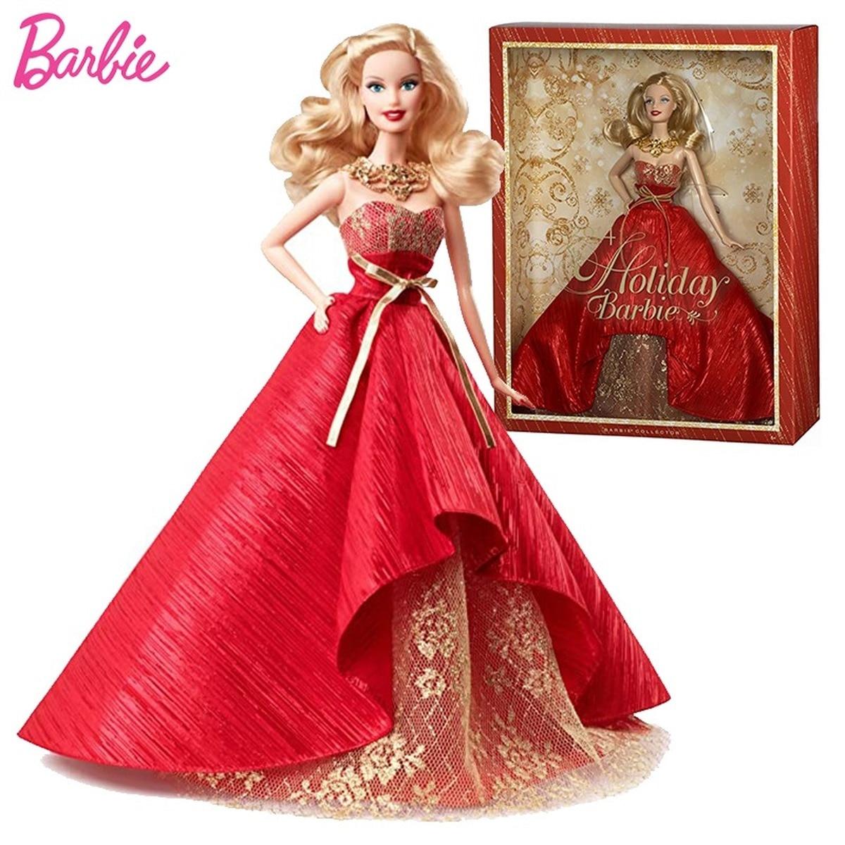 Muñecas Barbie para niñas, vestido de muñecas de vacaciones, ropa para niños,...