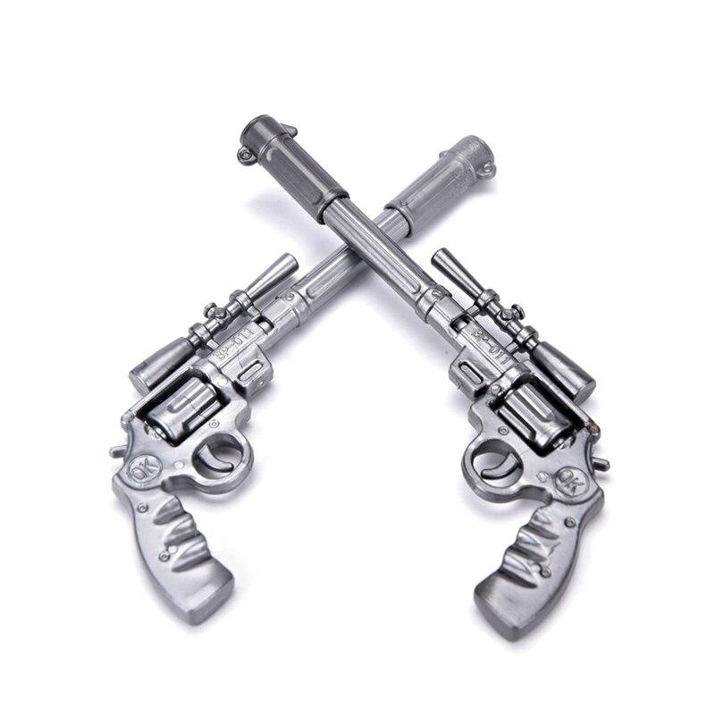 1 pièces Roscoe Fiveshooter pistolet stylo à bille nouveauté papeterie mignon drôle Kawaii stylos Canetas stylo à bille roulante fournitures scolaires