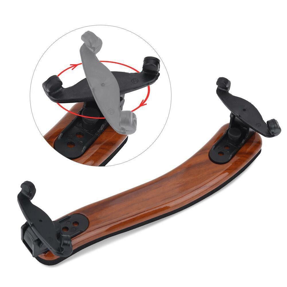 1 шт. универсальный тип плечевой упор для скрипки пластиковая черная подкладка для 3/4, 4/4 Регулируемая скрипка акустическая скрипка аксессуа...