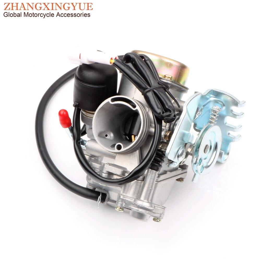 سكوتر عالية الجودة المكربن لياماها YW125X BWS125X CKV 26 مللي متر BWS 125 OEM 24P-E4901-20