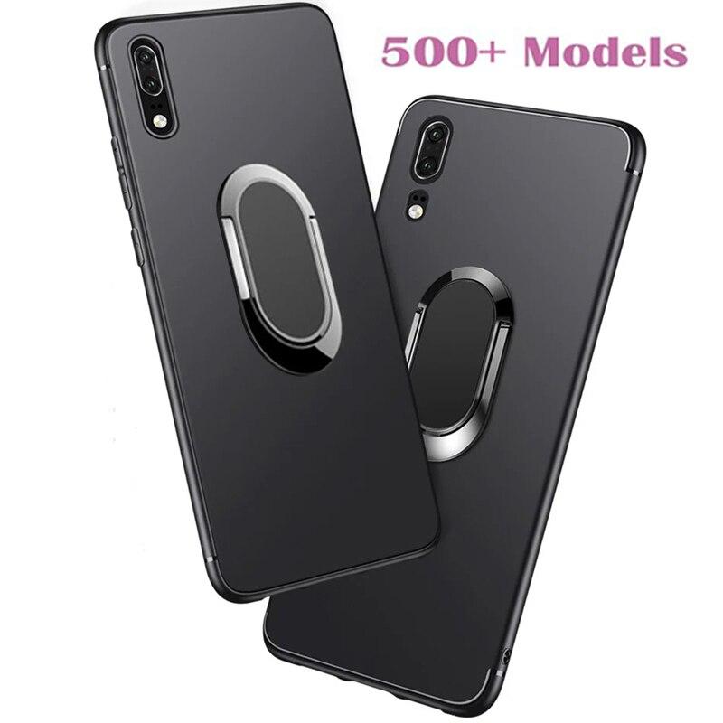 Мягкий чехол для Huawei Honor 8 Lite 9 Pro 9i 9N 5A Play 6X 5X 5C 7A Pro Mate 10 Lite, чехол для телефона с кольцом держателем Бамперы      АлиЭкспресс