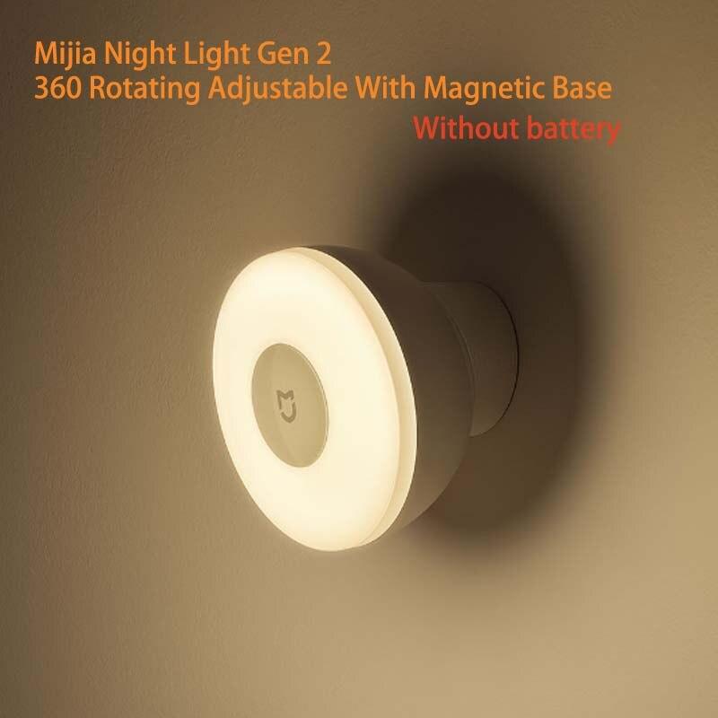 מקורי שיאו mi Mi jia LED מסדרון Xio mi שיה mi לילה אור עם תנועת גוף אדם חיישן אינפרא אדום מרחוק בקרת Mi חכם בית