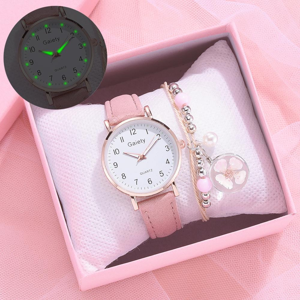 2021 NEW Women Watches Simple Vintage Small Watch Leather Strap Casual Sports Wrist Clock Dress Wristwatches Reloj mujer