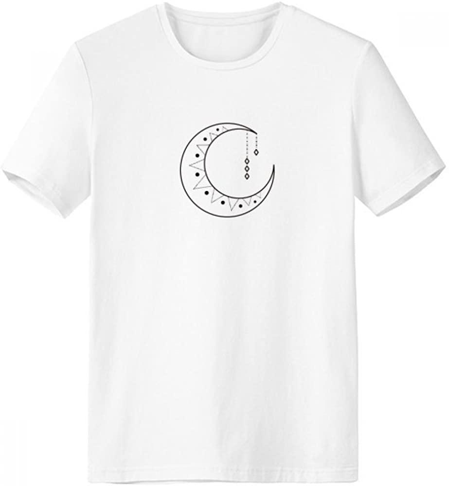 Gran oferta 2020, Camiseta de cuello redondo con forma de tótem y estrella de Luna, ropa de trabajo, bolsillo, manga corta, ropa deportiva, regalo