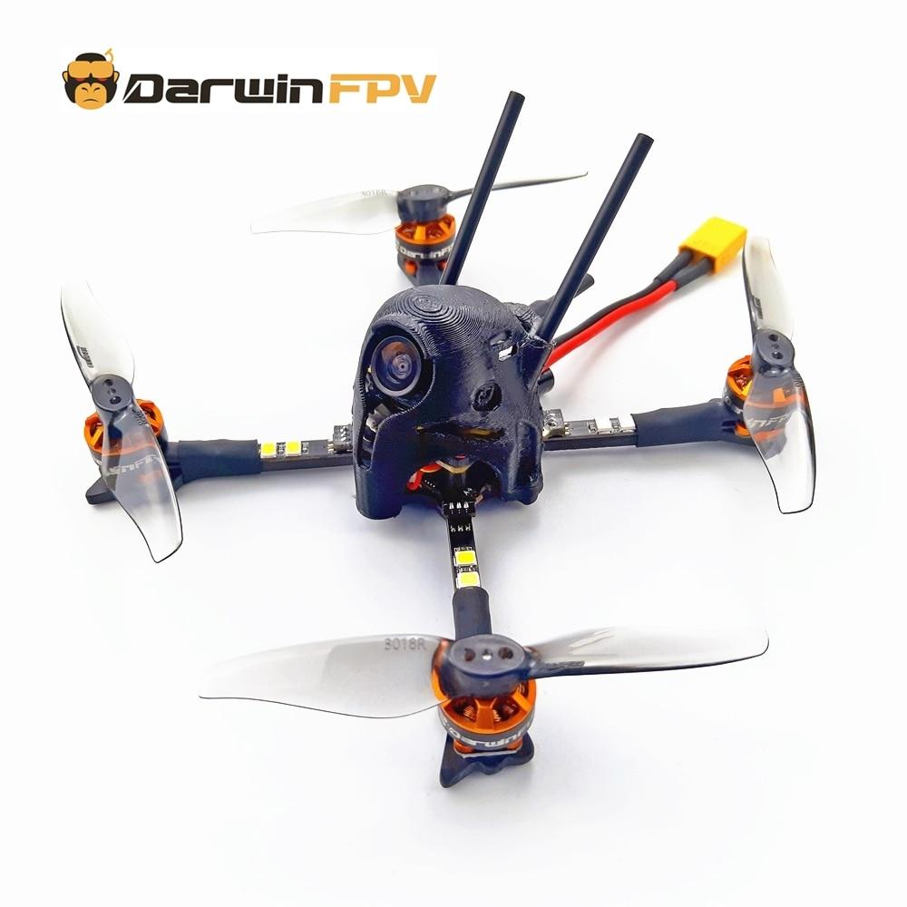 DarwinFPV-dron Quadcopters dron FPV ، 116 مللي متر ، إصدار DIY F4 OSD 30A BLHeli_S Dshot600 40CH 25mW CADDX 1200TVL