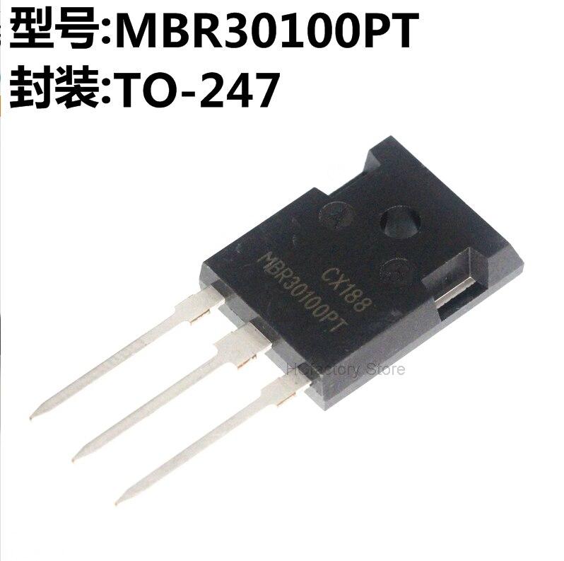 Фото - Original 5PCS MBR30100PT TO-247 MBR30100 TO-3P 30100PT 30A 100V MBR30200PT MBR30200 MBR40100PT MBR40100 Schottky diode mbr40200pt to 247