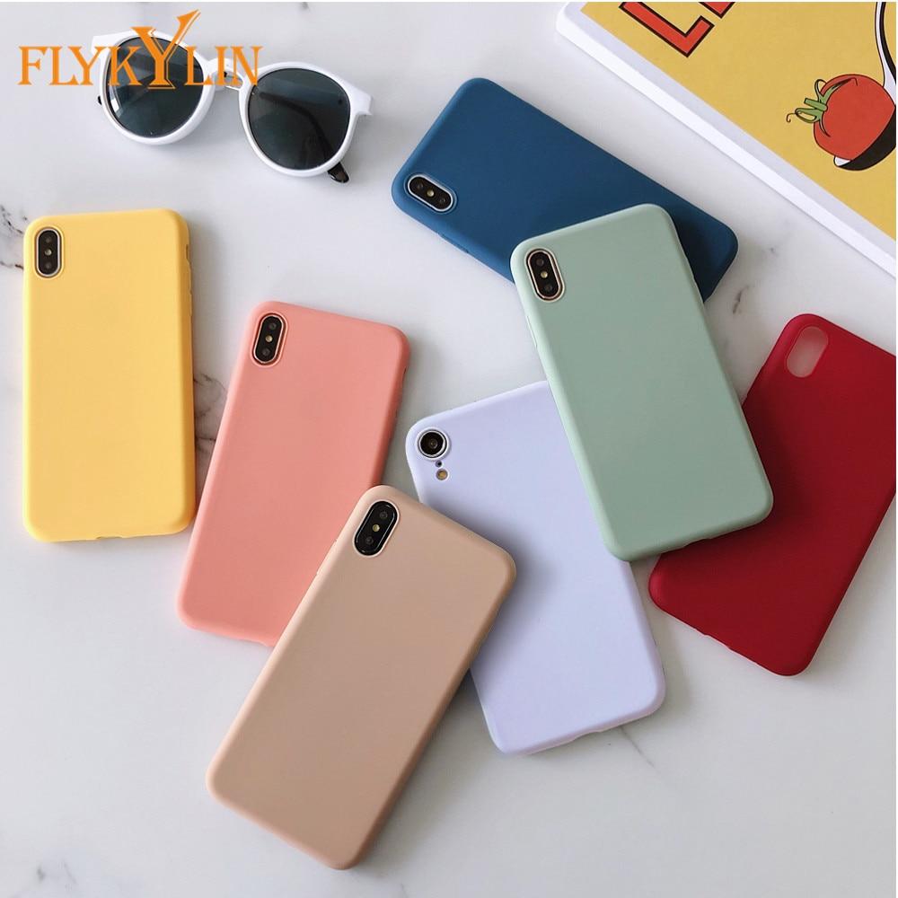Matte Silicone Phone Case For Huawei P30 P20 Lite P10 Mate 20 Mate 30 Mate 10 Lite Pro Mate 9 TPU Ca