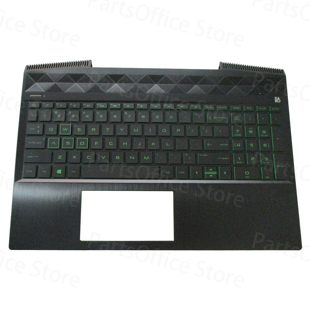 Palmrest غطاء لوحة المفاتيح ث/الخلفية ل HP بافيليون 15-CX 15T-CX L20671-001