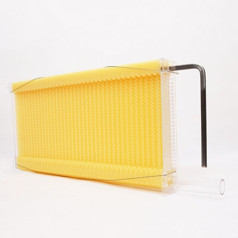 7 unids/pack de colmena de miel automática, panales de plástico, panales de miel, marcos de colmena para Herramientas de apicultura, colmena de jardín, nido de abeja automático