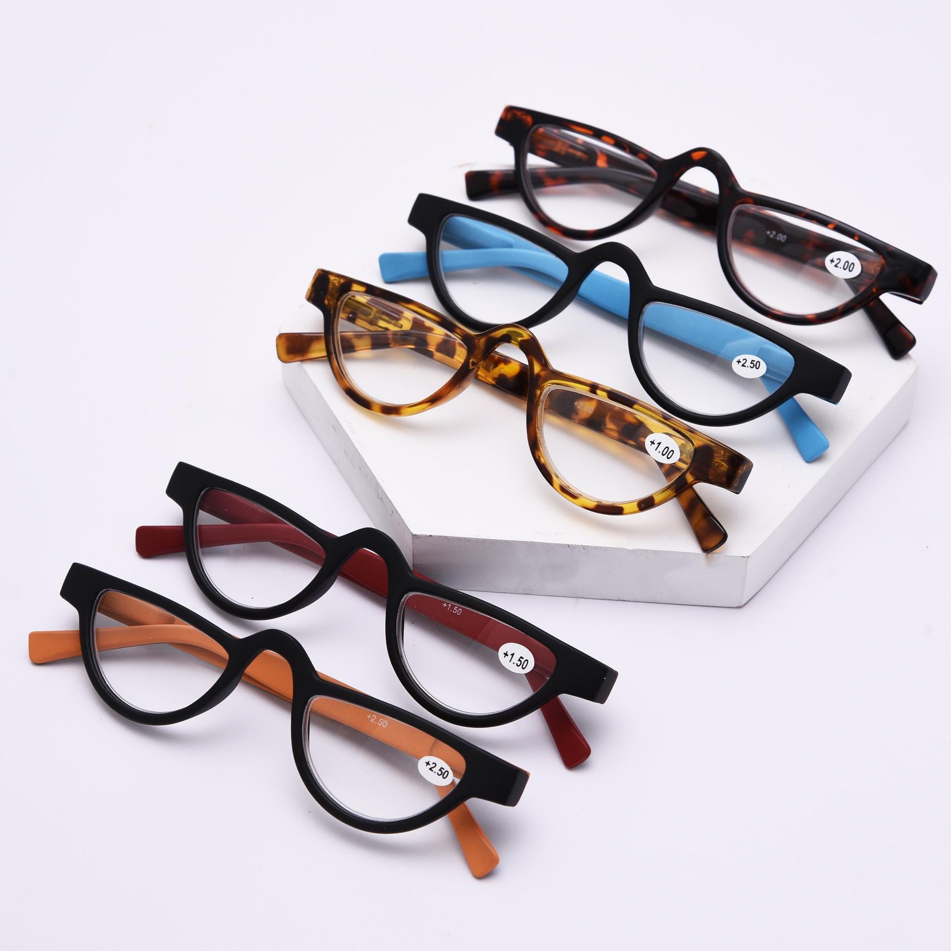 Retro Cat Eye Slender Men Women Reading Plastic Slingshot Glasses +1.0 +1.5 +2.0 +2.5 +3.50 Presbyopic Gafas Lunettes De Lecture
