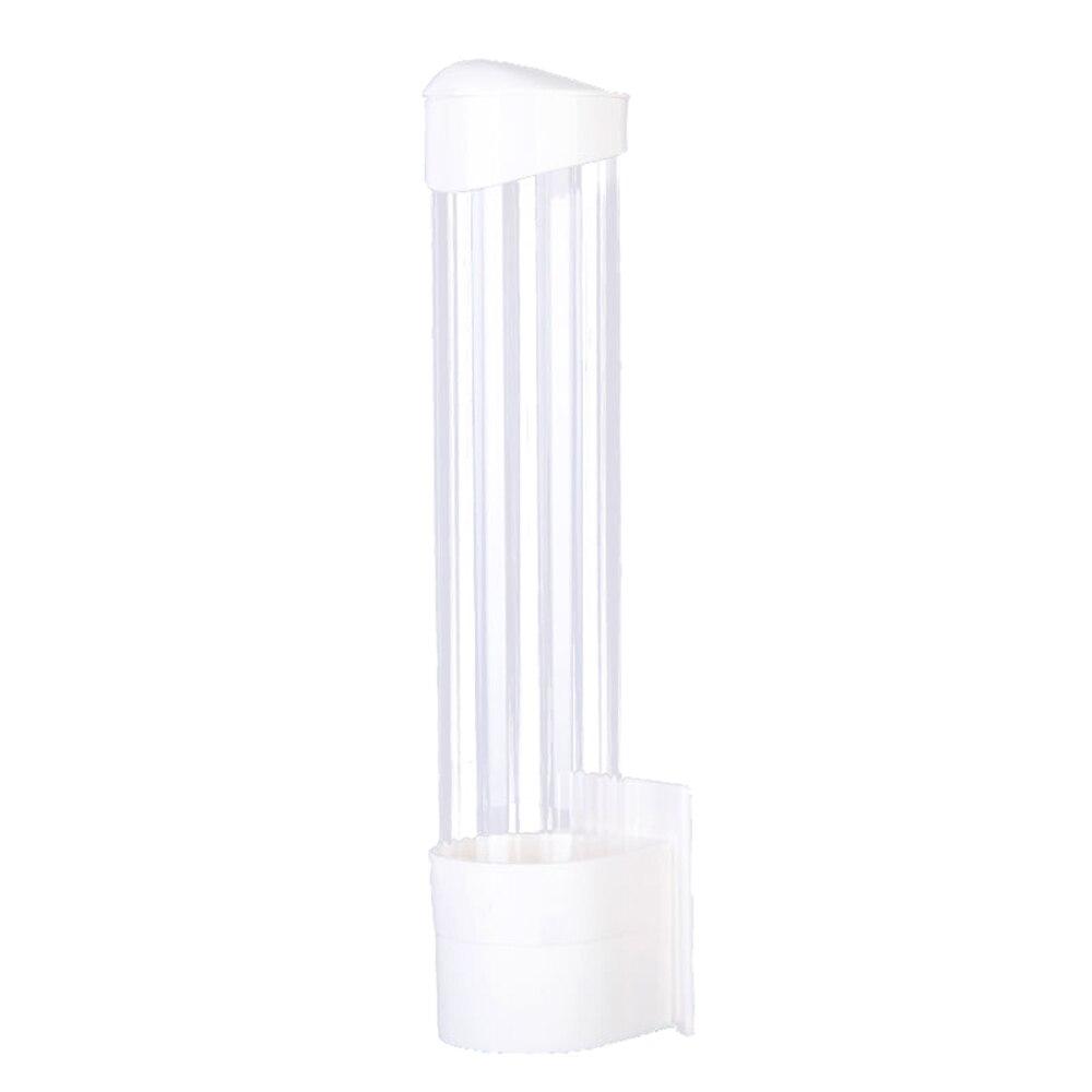 موزع أكواب بلاستيك يمكن التخلص منه ، موزع أكواب ، حامل أكواب أوتوماتيكي ، مقاوم للغبار ، بدون ثقب ، 70 قطعة