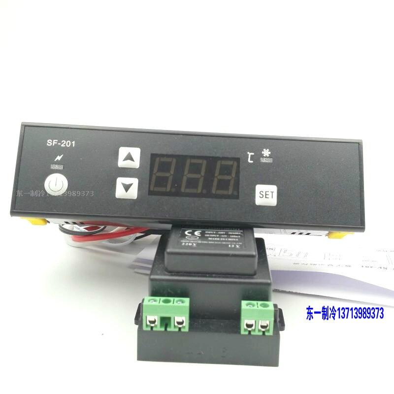 SF-201 خزانة عرض متحكم في درجة الحرارة الثلاجة الفريزر الإلكترونية متحكم في درجة الحرارة الكمبيوتر 201 درجة الحرارة السيطرة