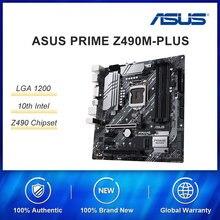 PRESELL ASUS PRIME Z490M-PLUS LGA1151 DESKTOP PC MASTER OFFICE GAMING MATX Z490 intel LGA 1200 M2 TYPE-C