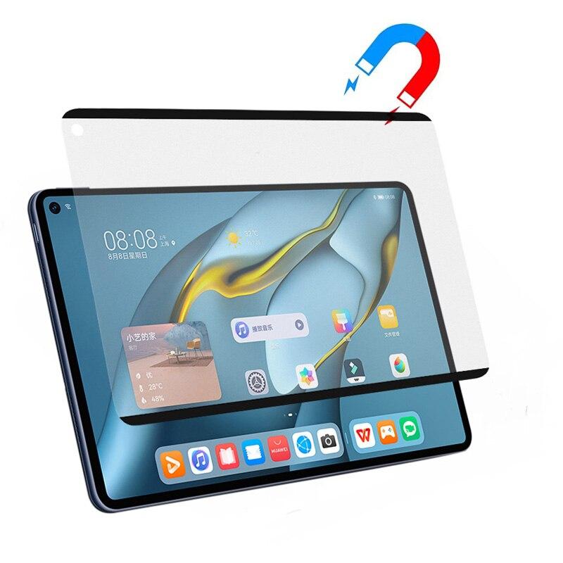 Магнитная Защитная пленка для экрана Huawei MatepadPro11 10,8, съемная многоразовая матовая защитная пленка для письма/рисования
