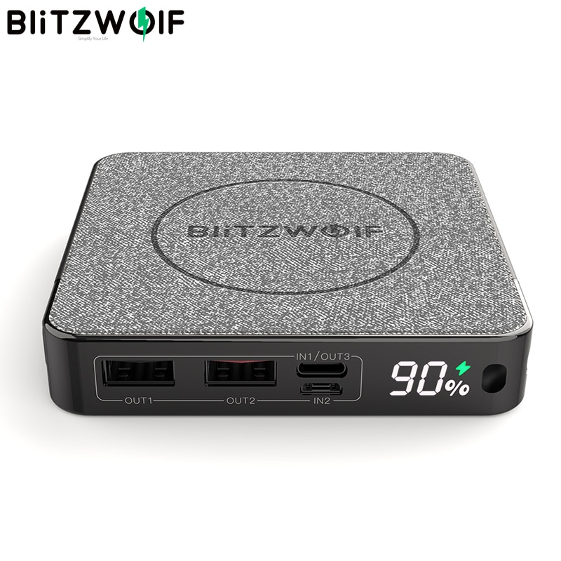 BlitzWolf BW-P13 10000 mAh - Wireless + PD + QC3.0