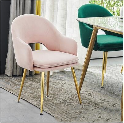 Chair back dining chair Nordic net red chair light luxury chair chair back home makeup net red chair