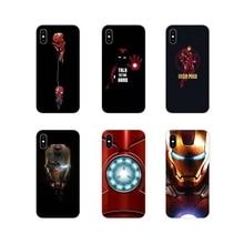 IronMan Iron Man Marvel accessoires coque de téléphone couvre pour Motorola Moto X4 E4 E5 G5 G5S G6 Z Z2 Z3 G G2 G3 C Play Plus