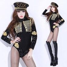 2020 DS Show séquine femmes vêtements Sexy DJ chanteur uniformes discothèque Gogo leader Costume dames danse fête nuit Bar Costume