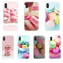 Coque souple Macaron Paris Laduree pour Samsung Galaxy A51 A71 A81 A90 5G A91 A01 S11 S11E S20 Plus Ultra