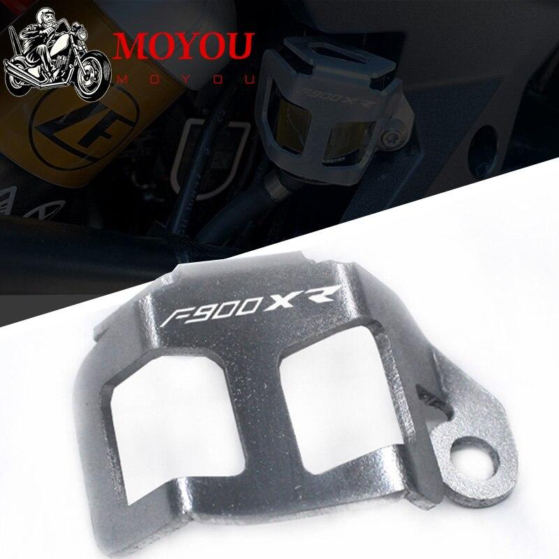 2020 для BMW F900 XR F900 XR F 900XR аксессуары для мотоциклов задний тормозной насос резервуар для жидкости масляный резервуар Защитная крышка Накладки и декоративные молдинги      АлиЭкспресс