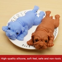 baby cute squishy dogs anime fidget toys puzzle creative simulation decompression educational toy anti stress children gifts