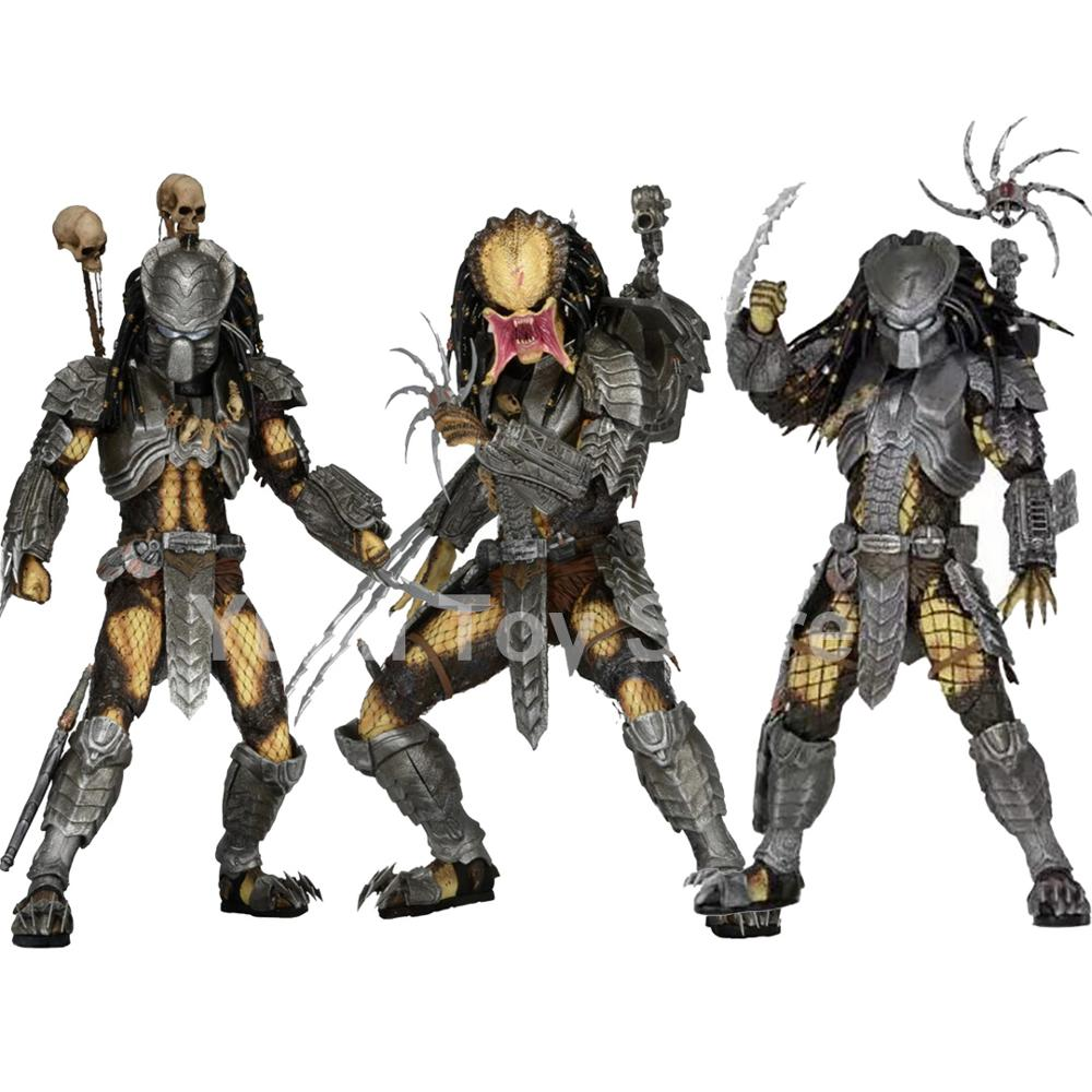 NECA celta depredador enmascarado cicatriz depredador laboratorio escapar fugitivo figura alienígena figuras...