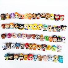 Mini figura de acción de dibujos animados de 2-3cm con ojos de cristal, muñecas para la cápsula de juguete, muñeca de princesa, juguetes de regalo de Navidad para niños