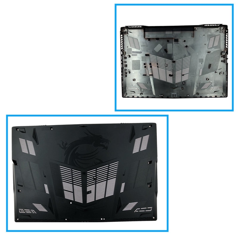 Habitação para Msi Carcaça do Corpo Nova Palmrest Superior Capa Case Teclado Ge73 Ge73vr Ms-17c1 17c5 Inferior