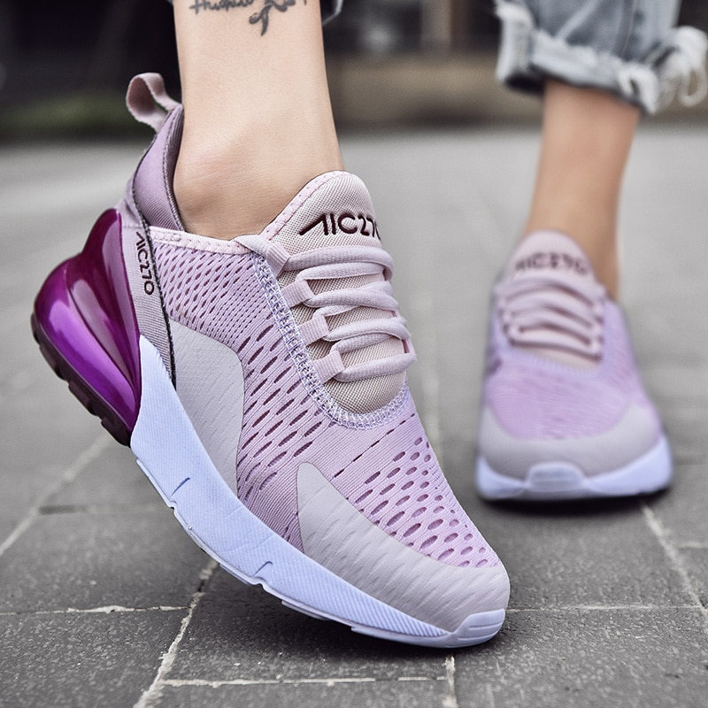 Sneakers Women Mixed Colors Lace-up Platform Shoes Women Casual Shoes 2021 Summer New Femme Shoes Zapatillas Deportivas Mujer