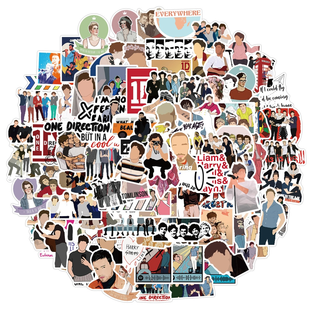 50-100-unids-pack-cantantes-populares-una-direccion-pegatinas-de-grafiti-para-skateboard-caja-bicicleta-ordenador-portatil-coche-juguete-de-los-ninos