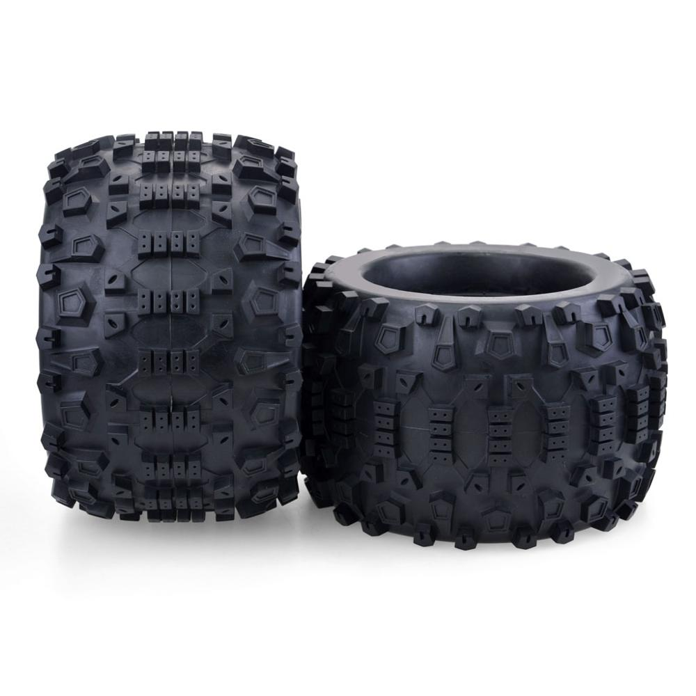 4pcs 1/8 170mm Monster truck wheels tires for Redcat Rovan HPI  Savage XL MOUNTED GT FLUX HSP 1/8 monster truck enlarge