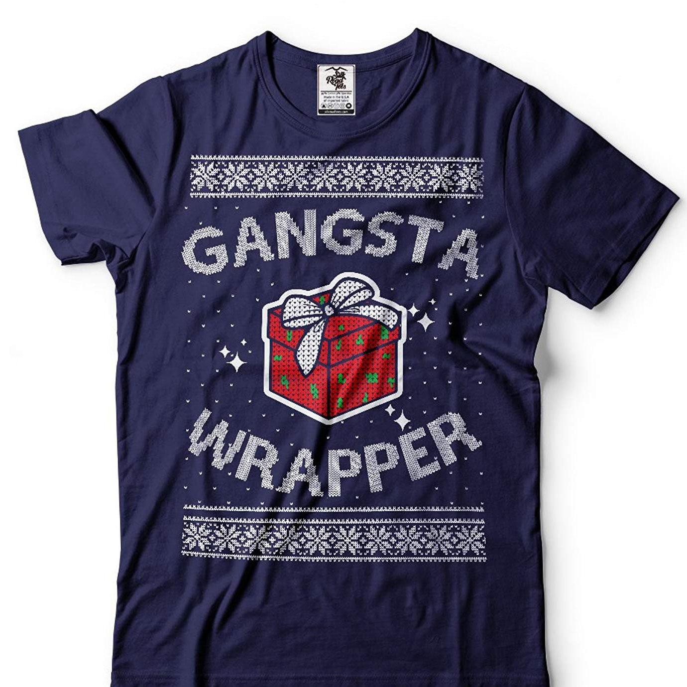 Suéter de Navidad para hombres, camiseta divertida, Venta barata, 100% algodón