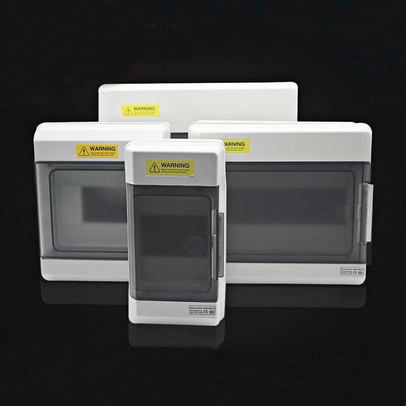 قاطع الدائرة الكهربائية ، صندوق توزيع الهواء المقاوم للماء من سلسلة NP ، صندوق 4/6/9/12/18/24 طرق للتثبيت السطحي